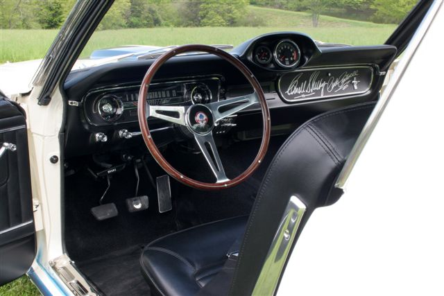'65 Shelby GT350, interior