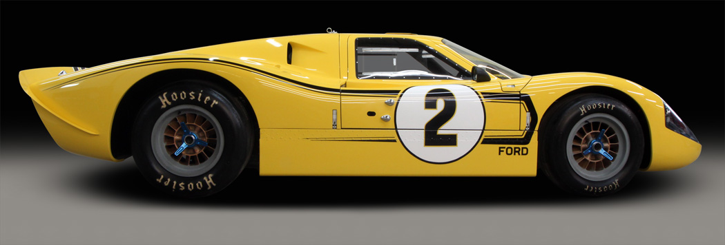 Mark IV GT40, side view