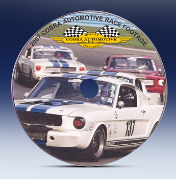Cobra Automotive Racing DVD