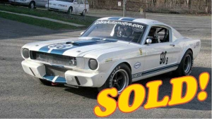 1965 Shelby Vintage Race Car for sale, priced at $165,000