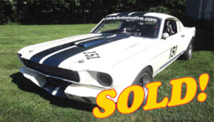 1966 Shelby GT350 Vintage Race Car, sold!