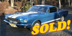 1966 Shelby GT350, sold!